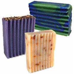 Lavender Goats Milk Soap Trio