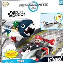 Mario Kart Will Mario vs Chain Chomp Building Set