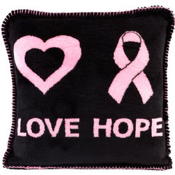 Pink Ribbon Pillow