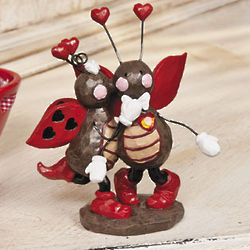 Ladybug Love Figurine