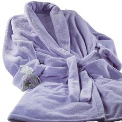 Lilac Double Minky Robe