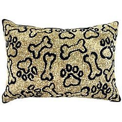 Puppy Paws Decorative Pillow