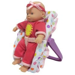 Out and About Mini Car Seat and Doll