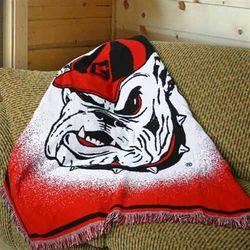 Georgia Bulldogs Triple Woven Blanket