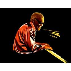 Ray Charles Pop Art Print