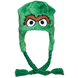 Oscar the Grouch Sesame Street Laplander Hat