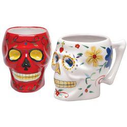 Sugar Skull Ceramic Mug