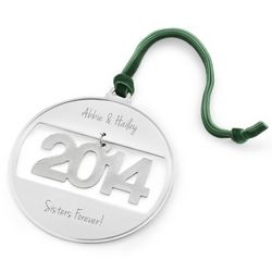 2014 Classic Ball Christmas Ornament