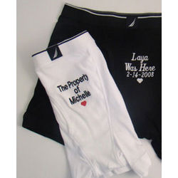 Personalized Men's Boxer Briefs Underwear