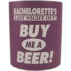 Bachelorette Beer Koozie