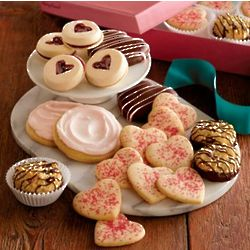 Hugs & Kisses Valentine's Day Cookie Gift Box