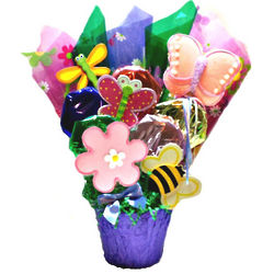 Enchanted Garden Cookie Bouquet