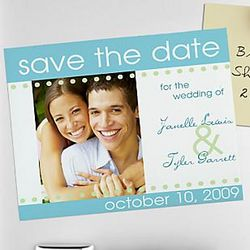 Save the Date Invitation Magnet Kit
