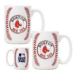 Boston Red Sox 2 Piece Mug Set