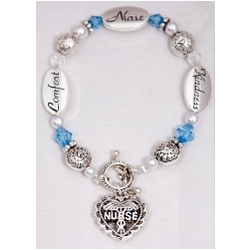 Nurse Facts Gift Bracelet