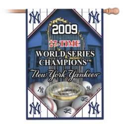 MLB New York Yankees 27-Time World Series Champions Flag