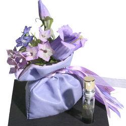 French Violets Floral Sachet