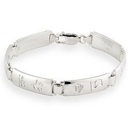 Ladies History of Ireland Bracelet