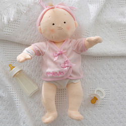 Rosy Cheeks Personalized Baby Doll