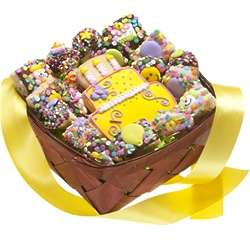 18 Piece Birthday Cookie Gift Basket