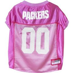 Packers Pink Pet Jersey