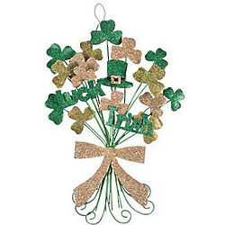 Lucky Irish Shamrock Wall Hanging