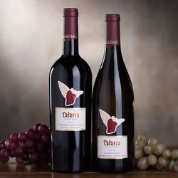 Talaria Vineyards Red and White Sonoma Wine Duet