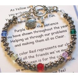 Messages of Love Teacher Bracelet