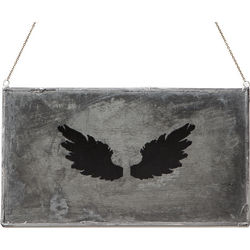 Wing Types Metal Plaque