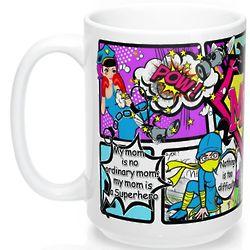 Heroic Law Protector Mom Mug
