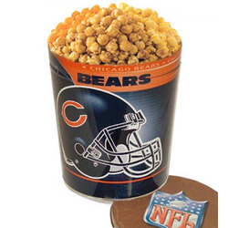 Chicago Bears 3 Way Popcorn Tin