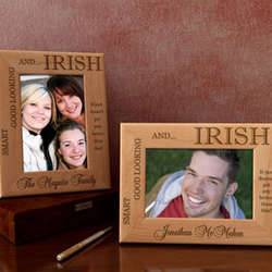 Personalized Heritage Wooden Picture Frame