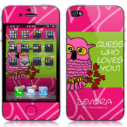 Guess Whoo Loves You Personalized Technology Skin