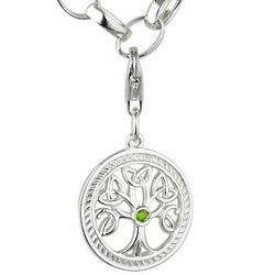 Failte Tree of Life Sterling Silver Charm Bracelet
