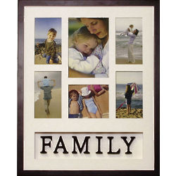 Family Themed Collage Wall Frame
