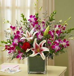 Deep Passion Floral Bouquet