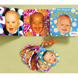 Baby Faces Fold-Out Book and Stroller Cards