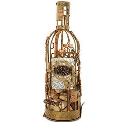 Steampunk Wine Cork Holder