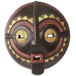 My True Love Wood African Mask