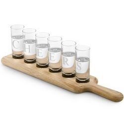 Custom Paddle Shot Glass Set