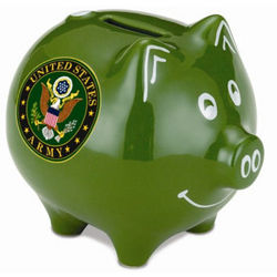 Military Piggy Bank