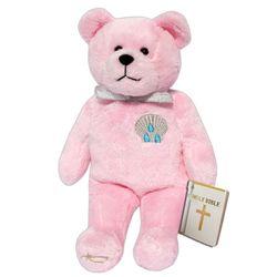 Pink Baptism Bear