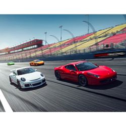 Supercar Driving Quattro 20 Lap Experience for 1