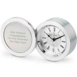 Silver Coin Clock