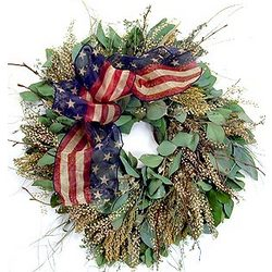 American Anthem Wreath