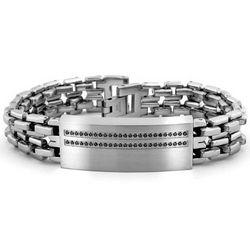 Black Diamond Men's Bracelet