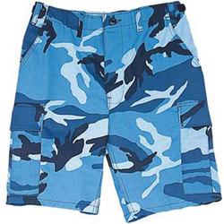 Sky Camo BDU Shorts