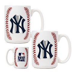 New York Yankees 2 Piece Mug Set