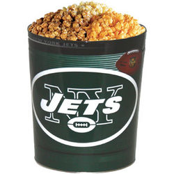 New York Jets 3 Way Popcorn Tin