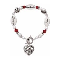 Grandma Facts Gift Bracelet